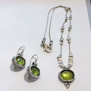 Silpada Daintree Necklace and Earrings